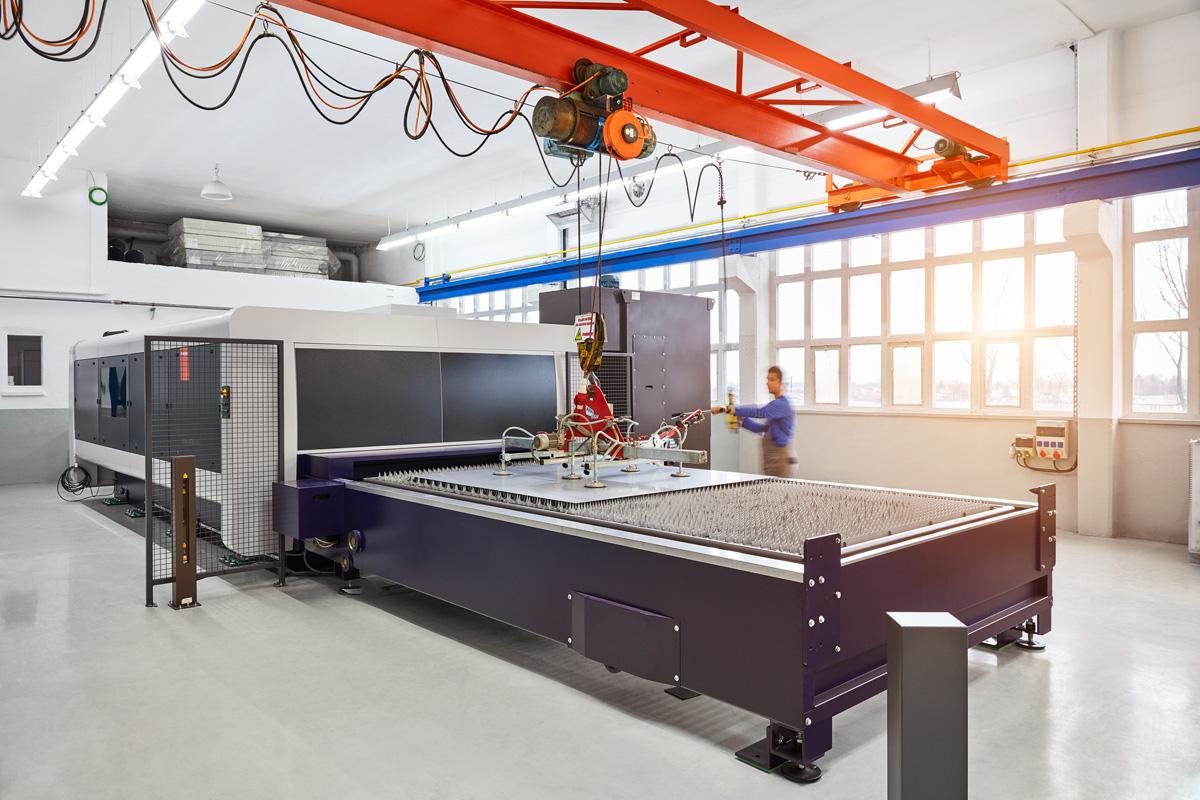 Laserschneidanlage mit modernster und effizienter Fasertechnologie