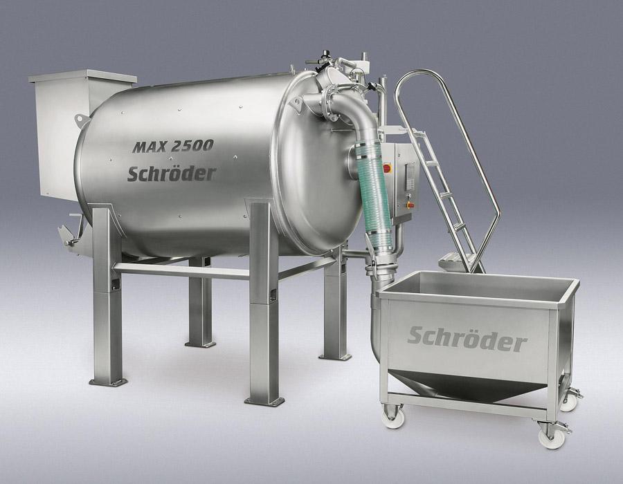 Vakuum-Massierbehälter für Fleisch, Fisch und Geflügelprodukte